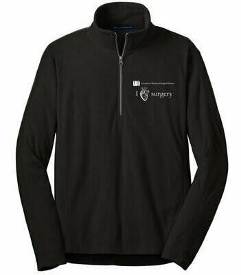 IMSS I Heart Surgery Fleece Jacket - 1/4 zip