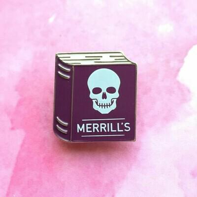 Merrill's Textbook Pin