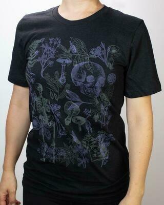 Poisonous Plants Scientific Illustration Tee Shirt