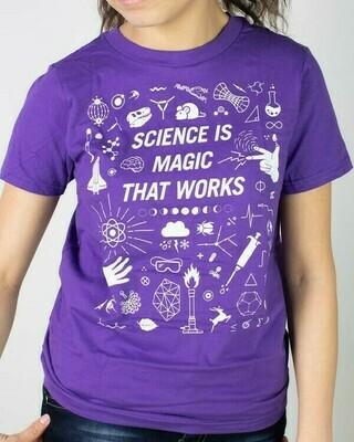 Science is Magic Youth Tee Shirt