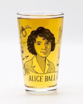 Alice Ball Pint Glass