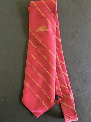 International College of Surgeons Silk Tie
