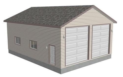 RV Garage Plans – 30 X 40 Garage Plans With Loft