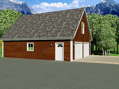 Garage With Apartment Plans CB Offer – 26 X 26 Garage Plans