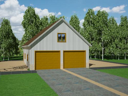 Instant Garage Plans With Apartments – 50 X 30 Garage Plans