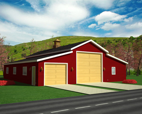 Instant Garage Plans With Apartments – 60 X 40 Garage Plans