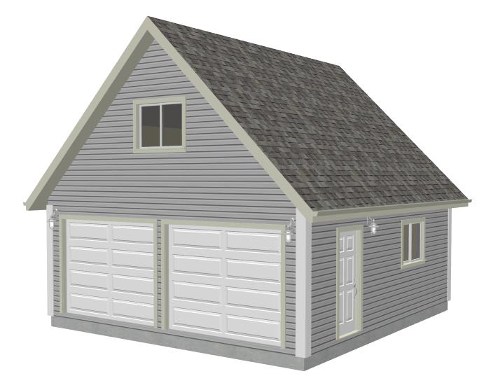 Garage Plans – Gambrel Roof Garage Plans Free
