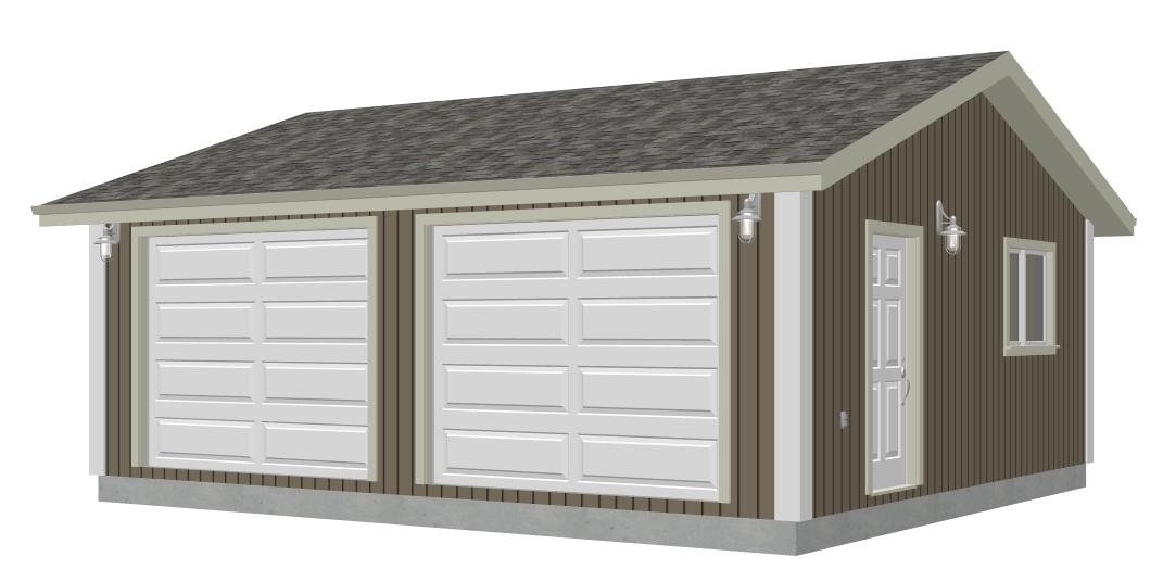 Garage Plans – Garage Plans 24 X 30