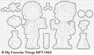 My favorite things CUTE CHEMISTS Die Set