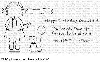 My favorite things BIRTHDAY BUDDIES Clear Stamp Set