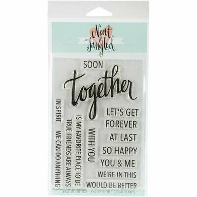 Neat & Tangled TOGETHER Clear Stamp Set