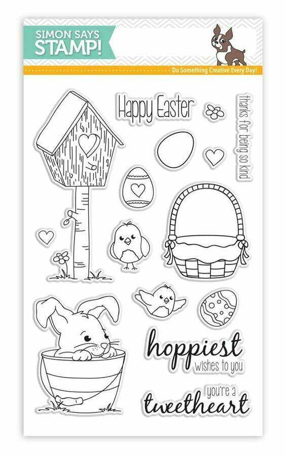 Simon Says Stamp SPRINGTIME CRITTERS Clear Stamp Set