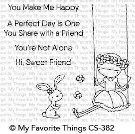 My Favorite Things SWEET FRIENDS Clear Stamp Set