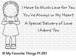 My Favorite Things SO MUCH LOVE Clear Stamp Set