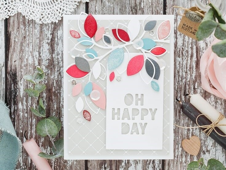 Simon Says Stamp OH HAPPY DAY TAG Die