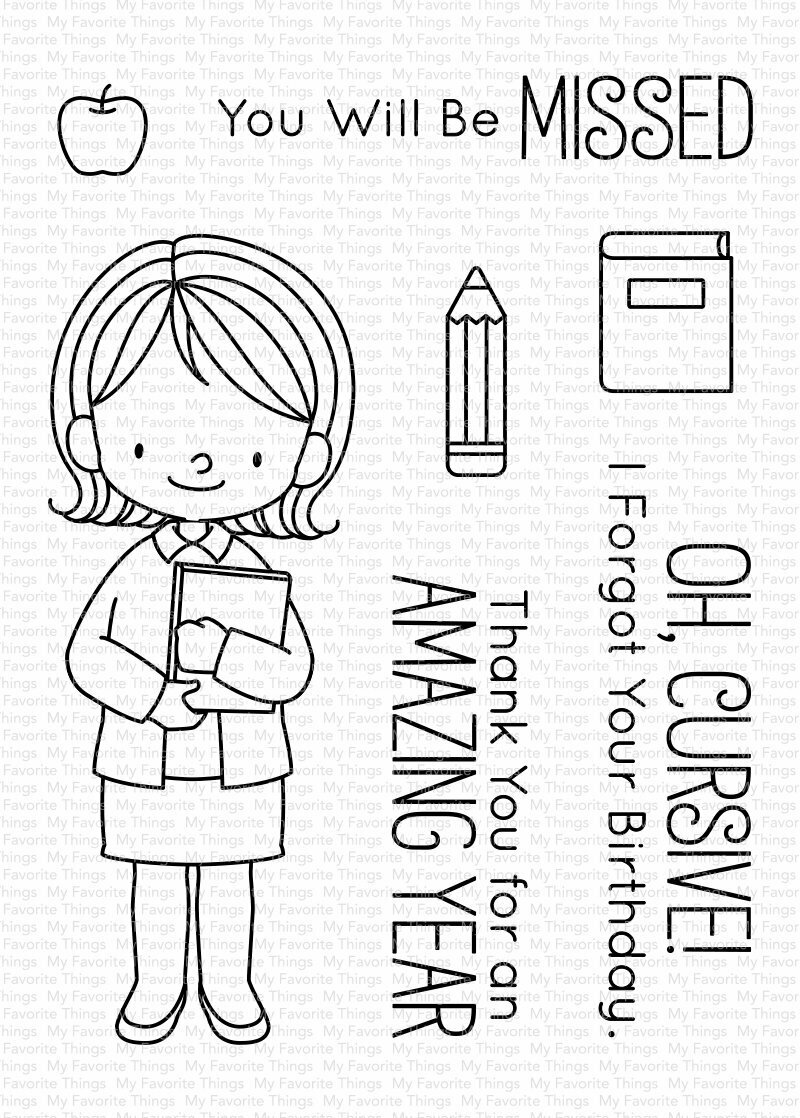 My Favorite Things BB LESSONS IN LOVE Clear Stamp Set