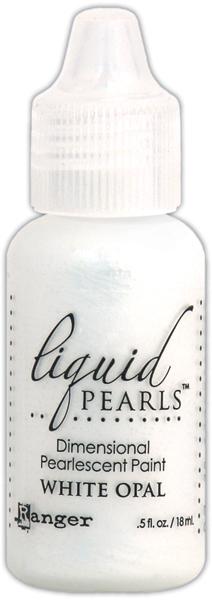 Ranger White Opal Liquid Pearls Dimensional Pearlescent Paint