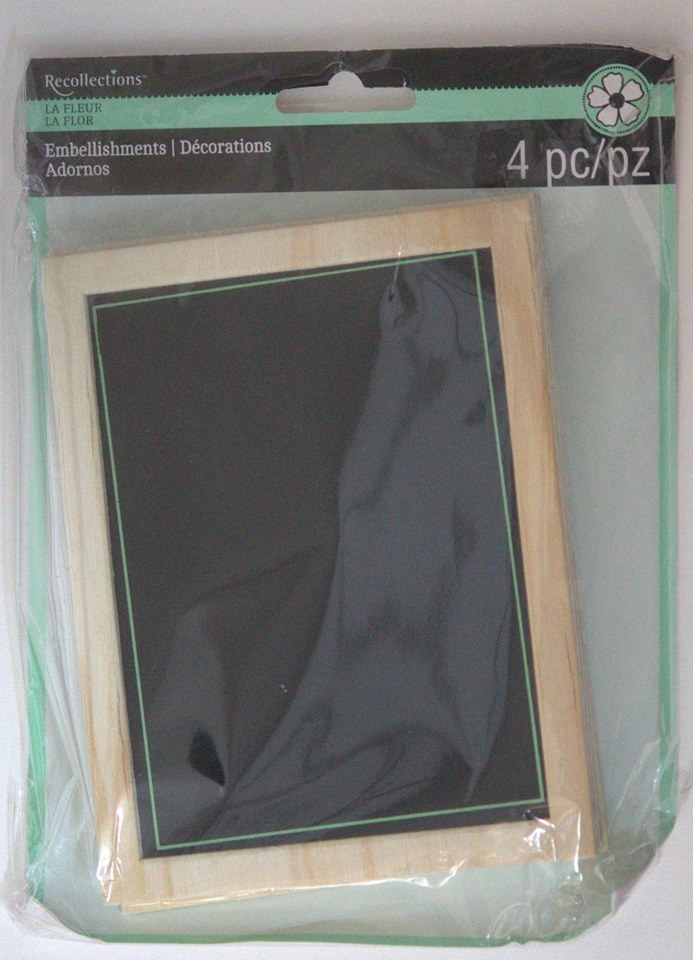 Recollections FRAMED CHALKBOARD Embellishment