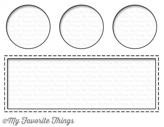 My Favorite Things SLIDER CHANNEL COMPANION WINDOWS Die-namics Die Set