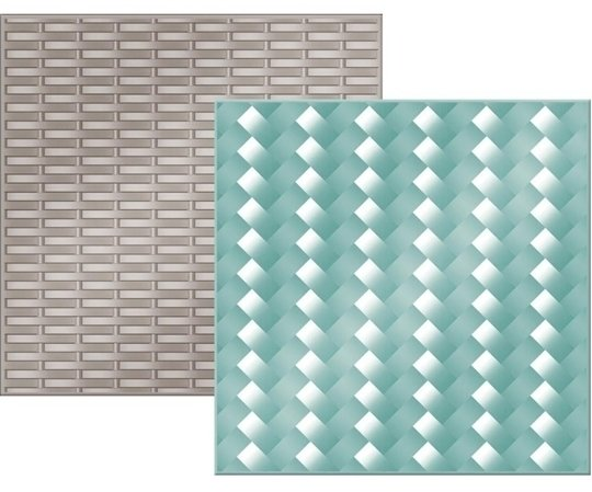 We R Memory Keepers WOVEN Next Level Embossing Folder