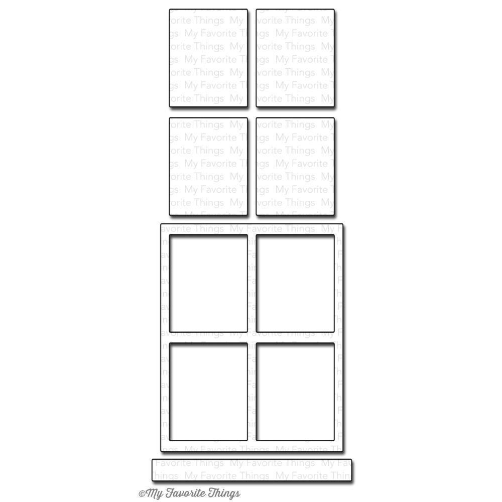My Favorite Things WINDOW Die-namics Die Set