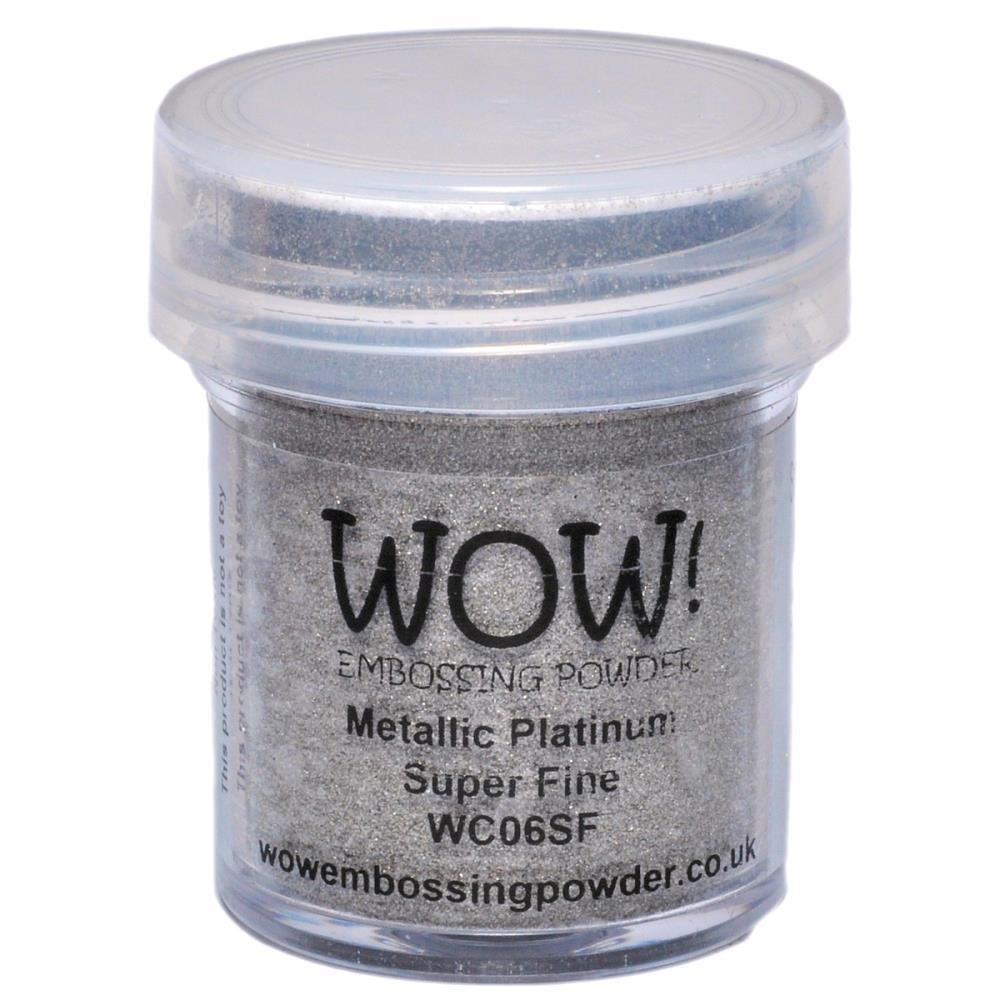 WOW! PLATINUM  Superfine Embossing Powder