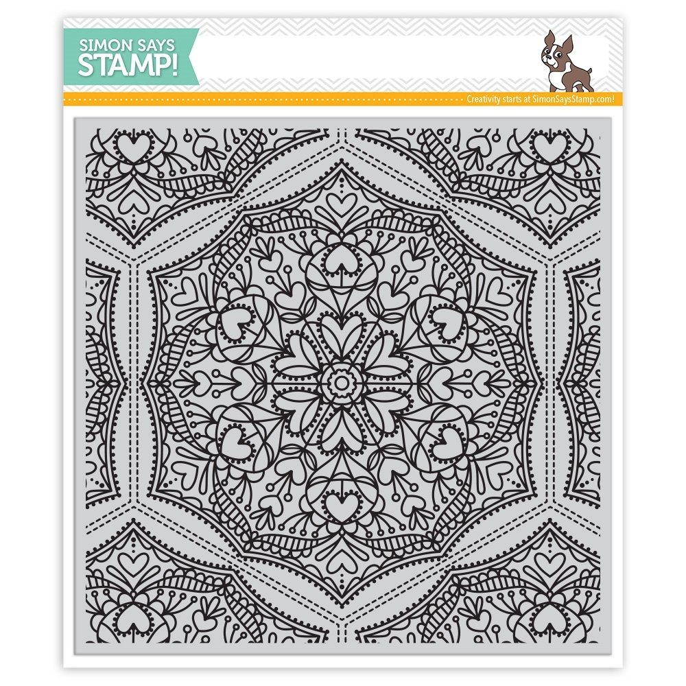 Simon Says Stamp CORA Cling Rubber Stamp