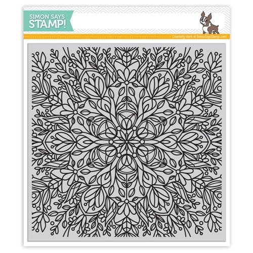 Simon Says Stamp FLORA Cling Rubber Stamp