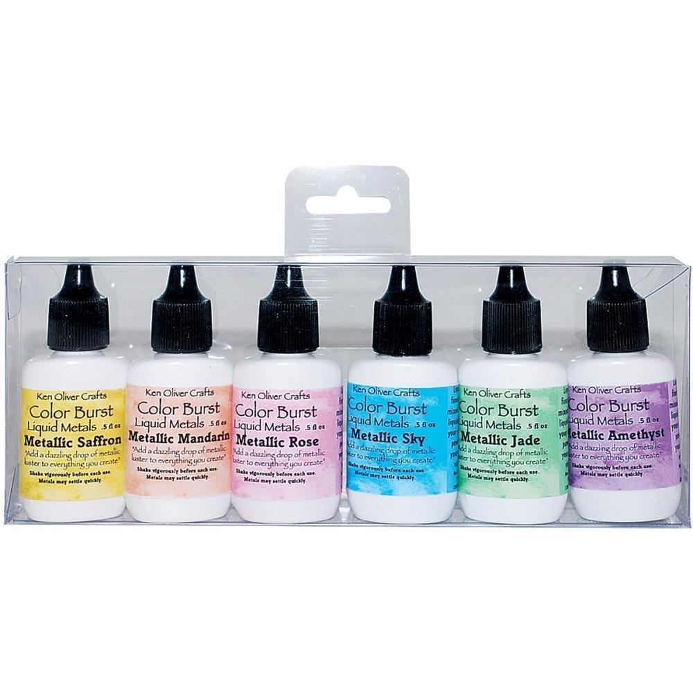 Ken Oliver PRECIOUS ALLOYS Color Burst Powder Set