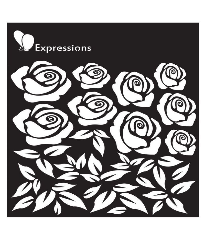 Expressions ROSES Stencil