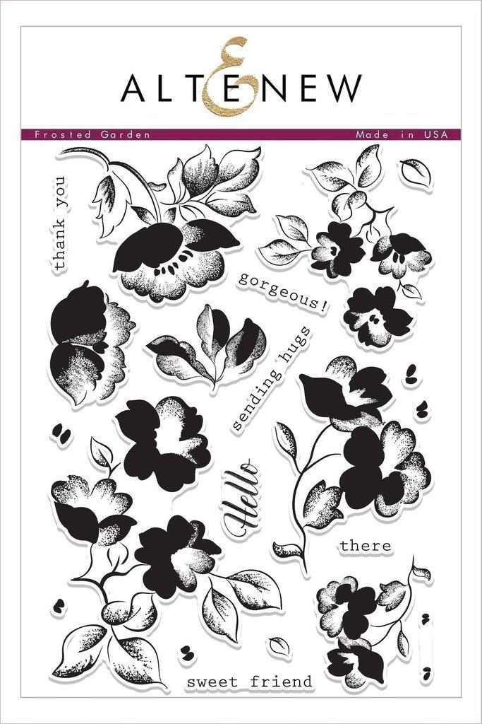 Altenew FROSTED GARDEN Clear Stamp Set