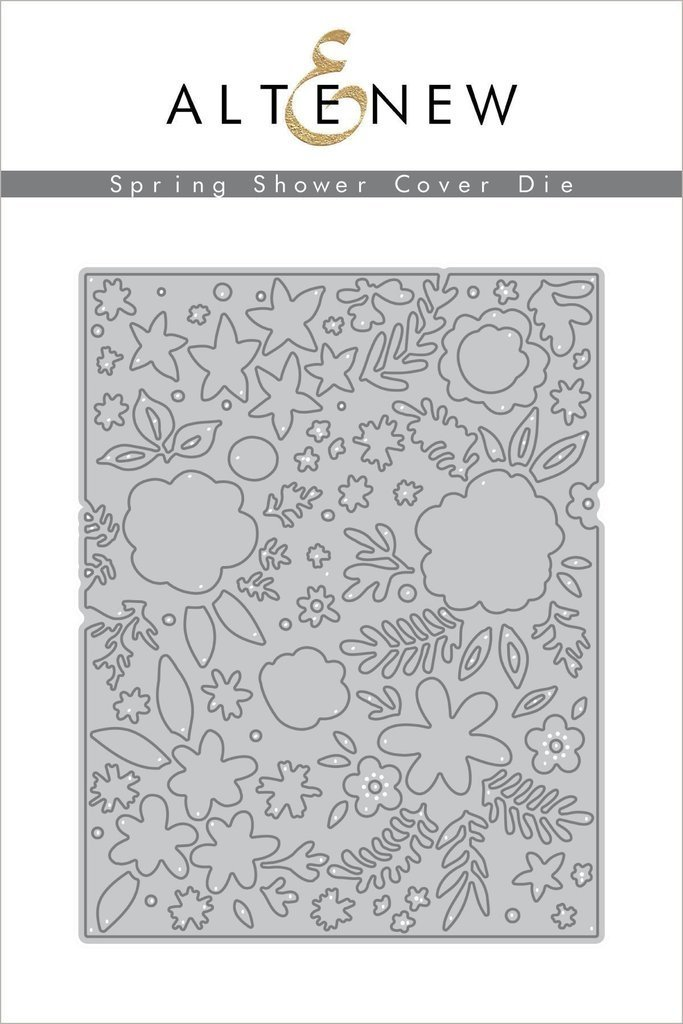 Altenew SPRING SHOWER COVER Die