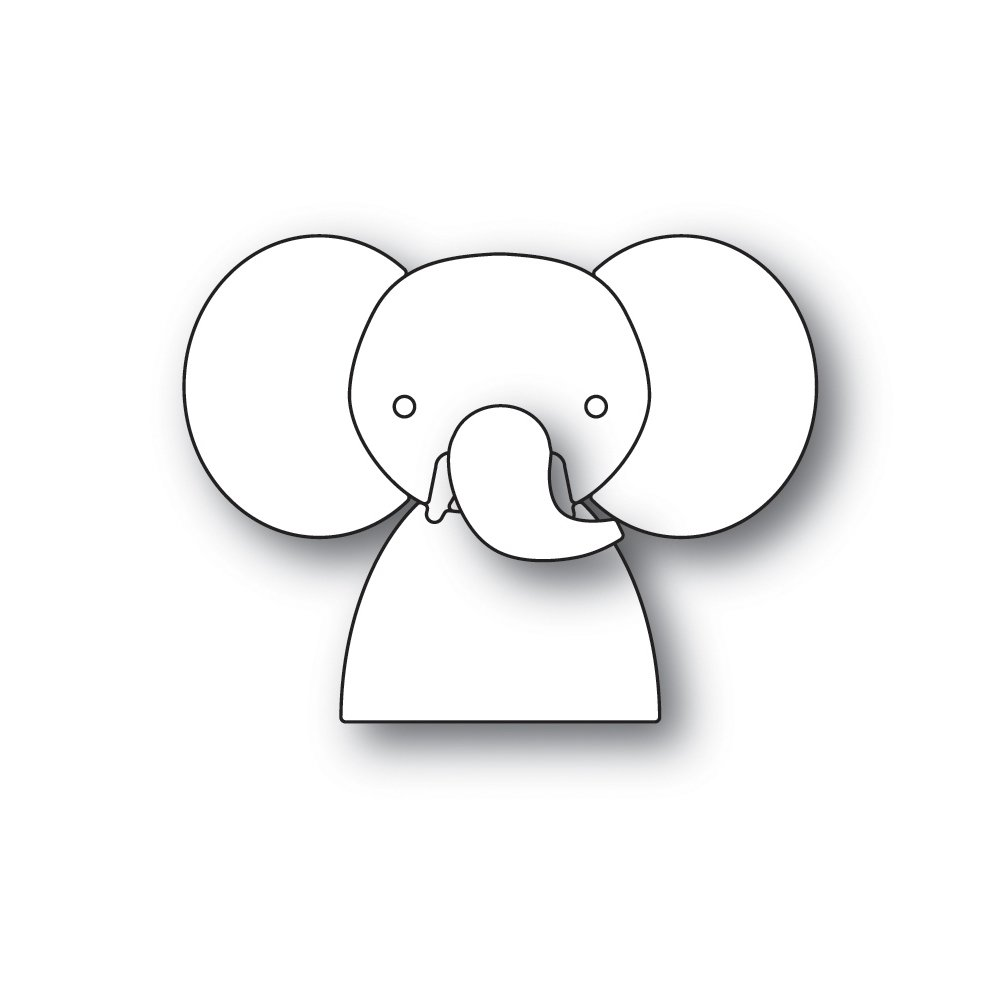Simon Says Stamp PICTURE BOOK ELEPHANT Die
