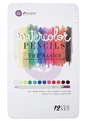 Prima Marketing BASIC Watercolor Pencil Set