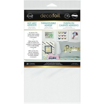 Thermoweb IRON-ON Adhesive Deco Foil Transfer Sheet