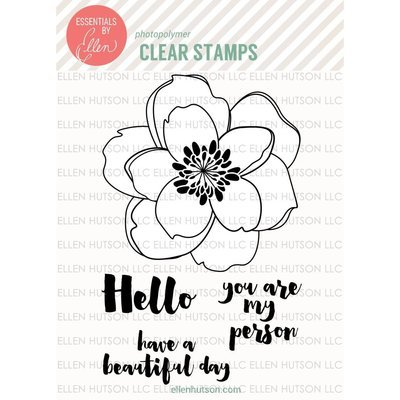 Essentials by Ellen MONDO MAGNOLIA Clear Stamp Set