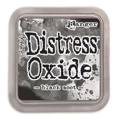 Tim Holtz BLACK SOOT Distress Oxide Ink Pad
