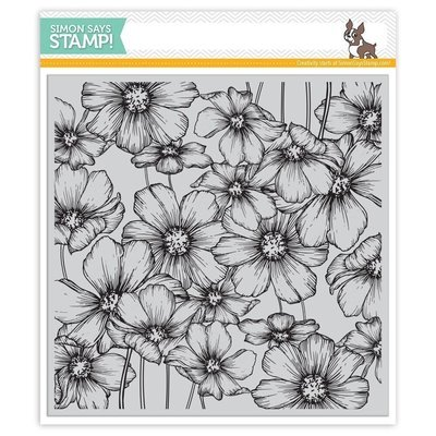Simon Says Stamp COSMOS Background Cling Stamp