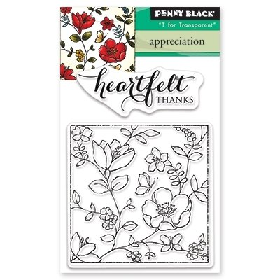 Penny Black APPRECIATION Clear Stamp Set