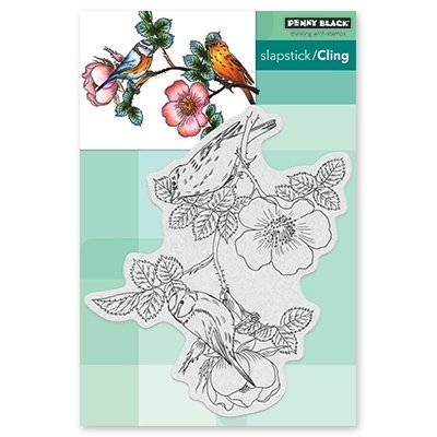 Penny Black MELODY MAKERS Cling Stamp