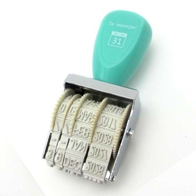 Roller DATE Stamp- 1pc