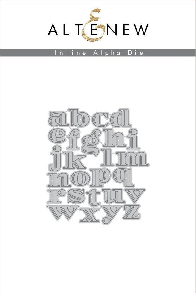 Altenew INLINE ALPHA Die Set