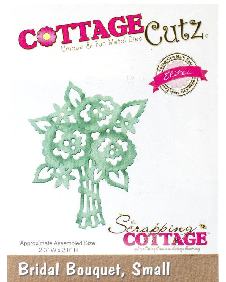 CottageCutz SMALL BRIDAL BOUQUET Elites Die