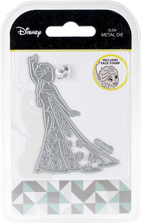 Disney ELSA Frozen Die and Face Stamp Set