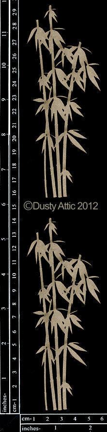 Dusty Attic BAMBOO #1 Lasercut Designs