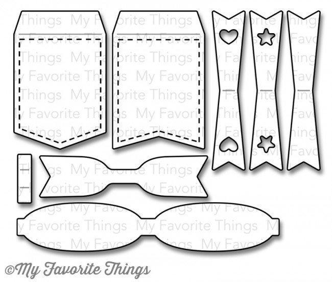 My Favorite Things CREATIVE CLIPS Die-namics Die Set