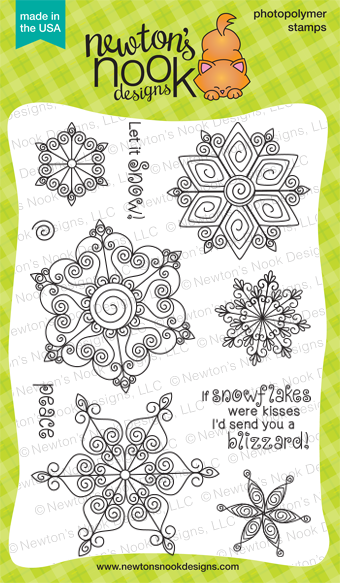 Newton's Nook BEAUTIFUL BLIZZARD Stamp Set