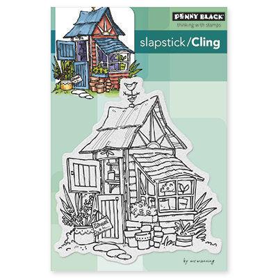 Penny Black POTTER'S SHED Cling Stamp