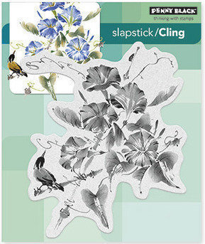 Penny Black TRUMPET SONG Cling Stamp