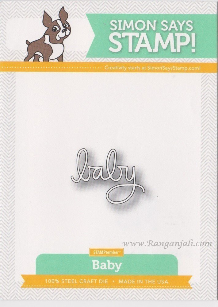 Simon Says Stamp BABY Craft Die
